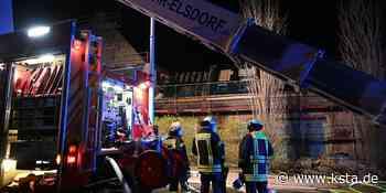 Elsdorf: Dachstuhl brennt durch – Anwohner hörten vorher lauten Knall - Kölner Stadt-Anzeiger