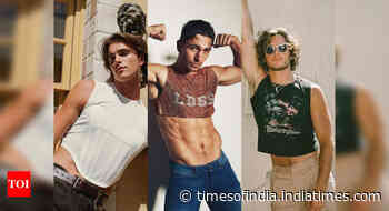 Crop tops for men are having a moment