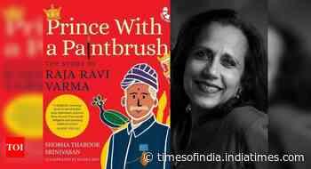 Illustrated biography of Raja Ravi Varma
