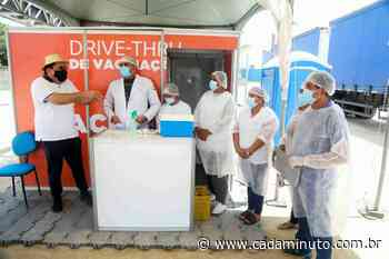Rio Largo registra mais de 10 mil doses aplicadas contra Covid-19 - Cada Minuto