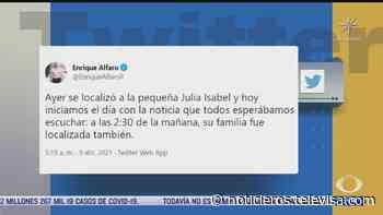 Hallan sana y salva a familia desaparecida en Acatic, Jalisco - Noticieros Televisa