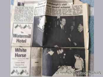 Prince Philip: Former Apsley Grammar School students remember the day the Duke of Edinburgh visited Hemel Hempstead - Hemel Today