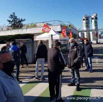 Inquiets pour l'avenir de leur usine à Crolles, les salariés de Teisseire entament une grève reconductible - Place Gre'net