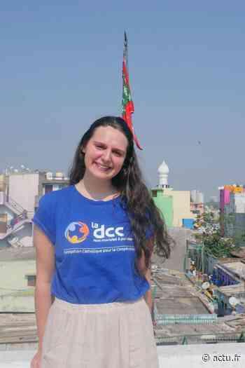 Yvelines. Villennes-sur-Seine : Cécile est partie en Inde pour aider les jeunes femmes éloignées de l'emploi - actu.fr