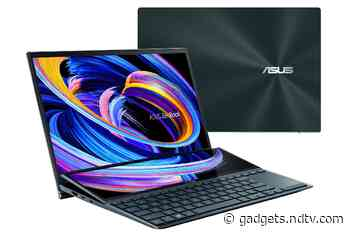 Asus ZenBook Duo 14, ZenBook Pro Duo 15 OLED With ScreenPad Plus Secondary Display Launched in India
