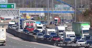 Traffic volumes in North Wales shoot up 66% as motorists take full advantage of cross-border travel - North Wales Live