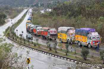 No traffic on highway today - Greater Kashmir