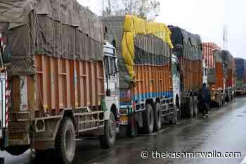 Srinagar-Jammu highway shut for traffic today - The Kashmir Walla
