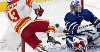 Gaudreau scores in overtime, Flames beat Maple Leafs 3-2 - Prince George Citizen
