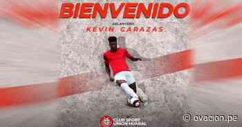 Unión Huaral se refuerza con Kevin Carazas - ovacion.pe