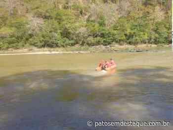 Homem de Lagoa Formosa morre afogado no Rio Abaeté após barco colidir em pedra - Patos em Destaque
