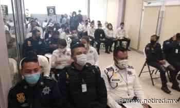 Concluyen capacitación a policías de General Escobedo, en temas electorales - Notired Nuevo Leon