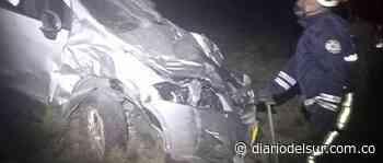 Un herido dejó accidente leve que ocurrió en Ipiales - Diario del Sur