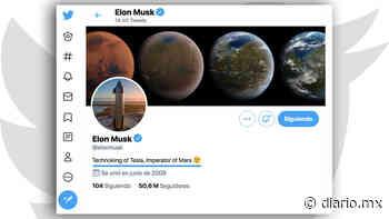 Elon Musk añade nuevo título a su biografía, ahora es 'Emperador de Marte' - El Diario