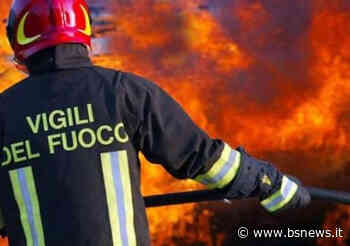 Passirano, palazzina in fiamme: minuti di paura per una bimba e una donna incinta - Bsnews.it