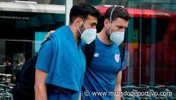 Los jugadores del Athletic estarán acompañados de un familiar en Sevilla