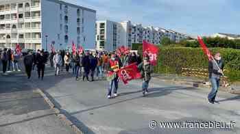 Manifestation des employés de l'entreprise Epta-France à Hendaye - France Bleu