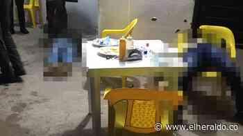 Asesinan a ingeniero y a su escolta en Curumaní - EL HERALDO