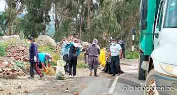 Huancavelica: Restos de obra y basura a la entrada de Pampas - Diario Correo