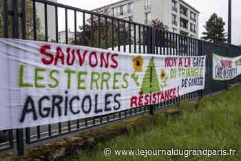 Dugny/JOP 2024 : manifestation contre le village des médias à l'Aire des vents - Le Journal du Grand Paris