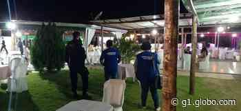 Festa de casamento com cerca de 100 pessoas é interrompida em Pirapora, MG - G1