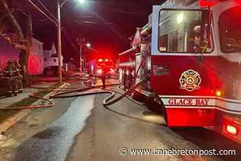 Duplex fire in Glace Bay traps a cat inside - Cape Breton Post