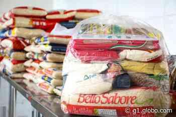 Prefeitura de Nova Serrana divulga cronograma para distribuição de cestas básicas - G1
