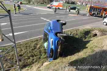 Drei Verletzte nach Unfall bei Baunatal - Hessennews TV