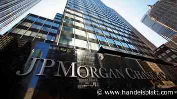 Quartalszahlen: JP Morgan und Goldman steigern Gewinne jeweils um mehr als 450 Prozent