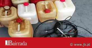Dupla terá furtado 190 litros de combustível em Valongo do Vouga - Jornal da Bairrada