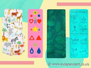 8 best kids yoga mats to encourage your little yogi - The Independent