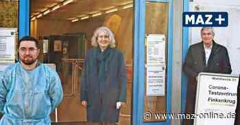 Kooperation mit ASB im zweiten Testzentrum in Falkensee Finkenkrug - Märkische Allgemeine Zeitung