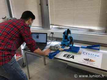 Deux étudiants de l'école d'ingénieurs de Reims EiSINe créent un jeu robotisé - L'Union