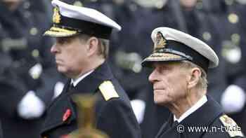 Zur Beerdigung des Vaters: Prinz Andrew will Uniform tragen
