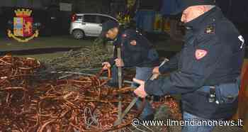 Furti di ingenti quantità di rame nelle stazioni di Frattamaggiore ed altri comuni: un arresto - Il Meridiano News