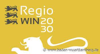 24 Leuchtturmprojekte im Wettbewerb RegioWIN 2030 prämiert