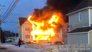 Seven displaced after Dieppe, N.B. home damaged by fire - CTV News Atlantic