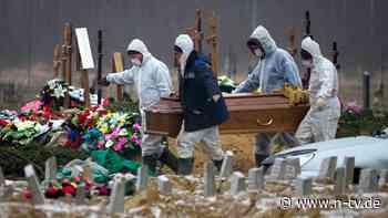 Übersterblichkeit in Pandemie: Verheimlicht Russland Corona-Tote?