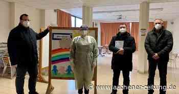In der ehemaligen Grundschule Aldenhoven: Testzentrum nimmt den Betrieb auf - Aachener Zeitung
