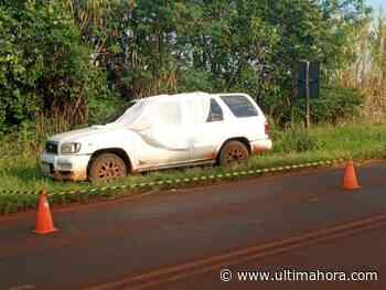 Un hombre fue hallado sin vida en su camioneta en Capitán Meza - ÚltimaHora.com