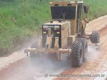DER executa manutenção na região de Ouro Preto do Oeste - Diário da Amazônia