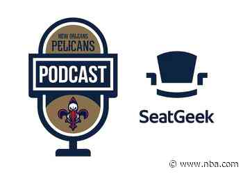 Travis Steele on the New Orleans Pelicans podcast presented by SeatGeek - April 14, 2021