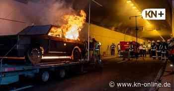 Kanaltunnel Rendsburg gesperrt wegen Rettungs- und Brandübung am 24. April - Kieler Nachrichten