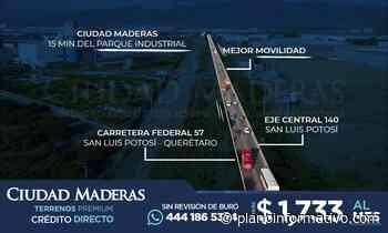 CIUDAD MADERAS, Aumentando la Plusvalía de San Luis Potosí - Plano informativo