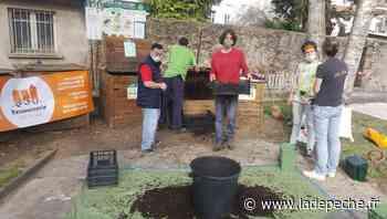 Foix : partage de compost place Parmentier - ladepeche.fr
