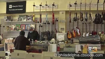 Open For Business: Pat's Music Shop In Mayfair Still Soothing The Soul In Good Times And Bad - CBS Philly