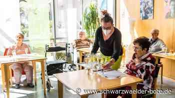 Altenheim Mühlehof im Kreis Lörrach: Das erste Festmahl seit Corona ändert  alles