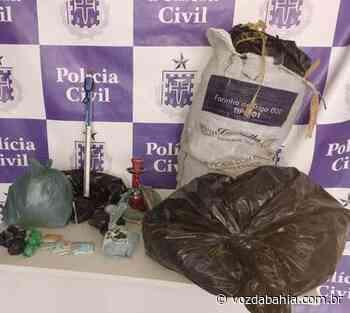 Vinte quilos de maconha são apreendidos em Senhor do Bonfim - Voz da Bahia