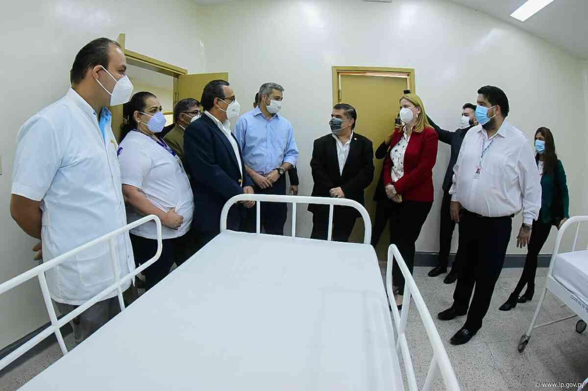 Centro de Salud de Guarambaré dispone de pabellón respiratorio para aliviar sistema sanitario | - ip.gov.py