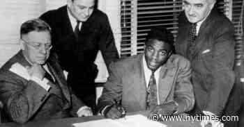 Jackie Robinson's Signing Caused a Financial Dispute